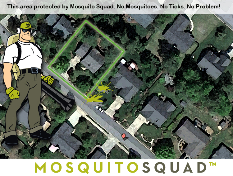 mosquito control tick control yard barrier spray central